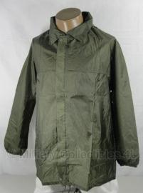 Regenjas met capuchon groen - Franse leger - ongebruikt - origineel