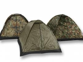 Driepersoons Iglo tent - 5 kleuren - Groen, Coyote, Flecktarn, woodland of Multicamo!
