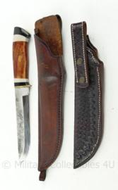Special custom made knife met extra schede gemaakt door messenmaker Edwin de Kovel - 39 cm - origineel