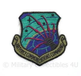 USAF Air Force Communications Command patch - 8 x 8 cm - origineel