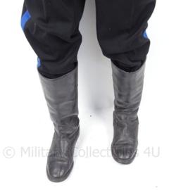 Officiers hoge laarzen - zwart leer - maat 43 - origineel