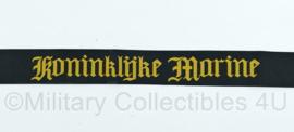 Koninklijke Marine Mutslint model tot 1940 en 1955 tot heden- ZWART - nagemaakt