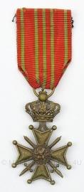 Belgische oorlogskruis 1914-1918 medaille  - Origineel