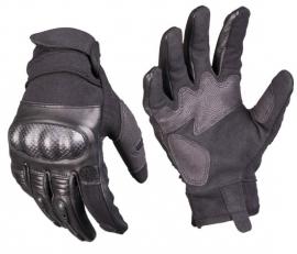 Tactical Glove Handschoen - extra beschermend en met te openen wijsvinger - Zwart
