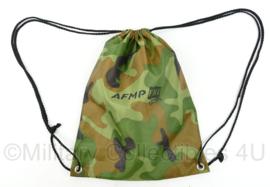 Militaire vakbond AFMP FNV Woodland rugzak - 41 x 33 cm - nieuw - origineel
