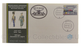 Postzegel herdenkingsenvelop 160 jaar Grenadiers en Jagers - 1879/1951 - origineel