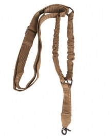 Tactical carry strap voor wapens Single Point Weapon Sling - Coyote