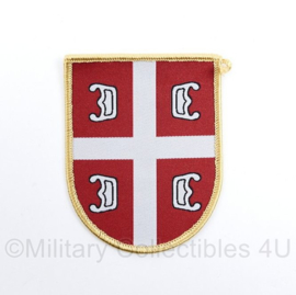 Servisch borstembleem - Serbian Army Regular Patch - 9 x 7 cm - origineel