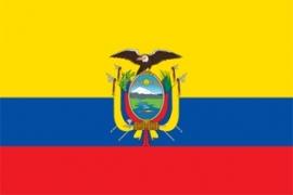Vlag Equador - Polyester -  1 x 1,5 meter