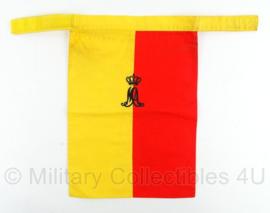 KMA Koninklijke Militaire Academie halsdoek - Kattenburg Rotterdam 1986 - 23 x 33 cm - origineel