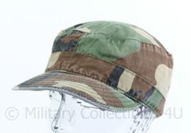 US Army Woodland cap - maat  6 7/8- origineel