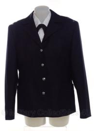 Britse Politie DAMES uniform jas zwart - ook als antiek politie jasje te gebruiken - maat 18 S - origineel