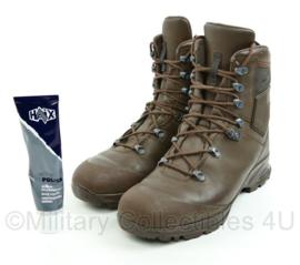 KL Haix Mondo laarzen MET schoenpoets - nieuwste model - bruin - maat 290M = 45 - licht gedragen - origineel