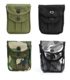 Tactical patroontas groot - 17 x 21 cm - Groen, Zwart, Woodland of Urban