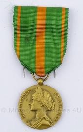 """Belgische """"Republique Francaise"""" gouden  medaille - Origineel"""