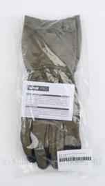 Korps Mariniers en Defensie handschoenen Special Forces M Aramide Protection lang Coyote - merk W+R pro  - maat XL - nieuw in verpakking - origineel