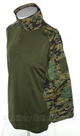 UBAC Underbody Armor combat  shirt  - Marpat Digital woodland camo