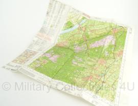 KL Nederlandse leger topografische kaart 2007 1:50 000 - 27 West Heerde - origineel