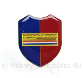 Defensie bevoorrading en Transport Commando dames DT borsthanger - 4,5 x 3,5 cm-  cm - ongedragen -