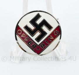 NSDAP Opferring speld met RZM stempel