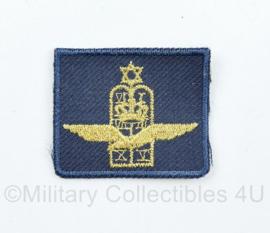 KLU Luchtmacht legerrabijn borst embleem op blauw  - 4 x 3,5 cm - origineel