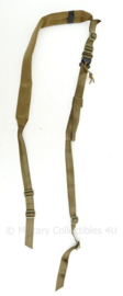 Defensie en Korps Mariniers en US Army viking Tactics Coyote rifle belt - 170 x 5 cm - origineel