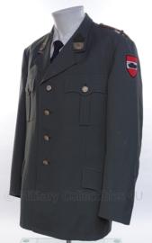 """Oostenrijkse leger officiers jasje met insignes - """"tank-eenheid"""" - maat M - origineel"""
