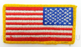 US Army arm vlag - full colour - afmeting 8 x 5 cm - Origineel