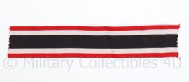 Kriegsverdienstkreuz neklint extra breed -   30 cm lang / 4 cm. breed