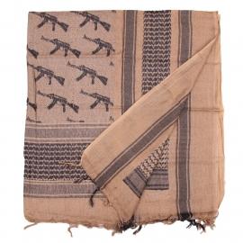 Shemagh PLO sjaal-  Coyote met AK47 kalashnikovs!
