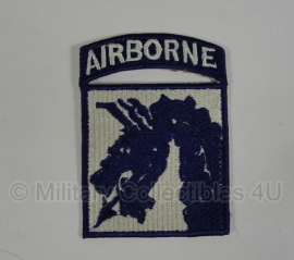 WWII US XVIII (18th) Airborne Corps patch