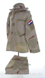 KL Special Forces desert camo jas met broek en bush hat - maat large/regular - origineel