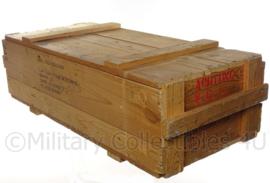 Militaire houten kist  - 95 x 40 x 29 cm