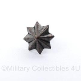 Defensie mini model metalen ster voor op de medaille baton - origineel