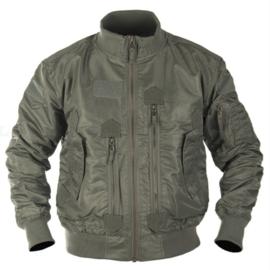 Tactical Flight Jacket Bomberjack - Green