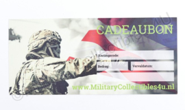 MC4U kadobon - t.w.v. € 40,00 euro