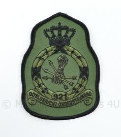 KLU Luchtmacht RNLAF 921 Squadron embleem - doelgericht ondersteunend  - 11,5 x 8 cm - origineel