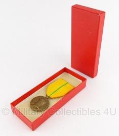 """Belgische """"Koning Albert 1909-1934"""" bronzen medaille - Origineel"""