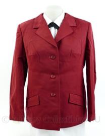 Dames jas - rood - Spoorwegen - origineel