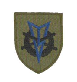 KL Koninklijke Landmacht MLV zwemmen embleem - 6,5 x 5,5 cm - origineel