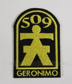 "WWII US 509th Parachute Infantry Regiment patch  ""Geronimo"""