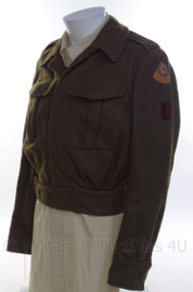 "MVO uniform jas ""geneeskundige dienst"" - maat 49 - origineel"