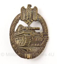 Panzerkampfabzeichen in Brons - koper kleurig
