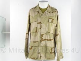 KM Korps Mariniers Desert jas (US Army desert camo) - maat Medium Regular - origineel