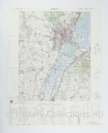 USA Defence mapping agency stafkaart Poland Szczecin M753 2224I - 1 : 50.000 - 74 x 58 cm - origineel