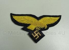 Luftwaffe generaals borstadelaar goud op blauw