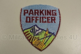 Parking Officer patch - origineel