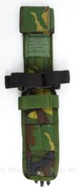 KL Nederlandse leger vroeg KMA model opbouwtas meshouder (been) Woodland MOLLE - topkwaliteit - 34 x 7,5 x 0,2 cm - origineel