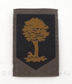 KL Nederlandse leger GVT embleem Opleidings- en trainingscommando met klittenband 8 x 5,5 cm. - origineel