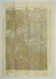 Duitse stafkaart Befestigungskarte Jugoslawien Brod Blatt 36/45 Sonderausgabe 1940 Joegoslavie - 70 x 50 cm. schaal 1:200000 - origineel